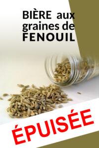 Bière aux graines de fenouil - Brasserie La Belle Poule