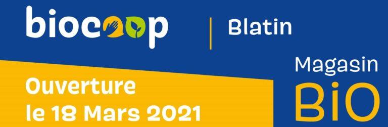 Ouverture de la Biocoop Blatin, Clermont Ferrand